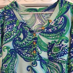 Lilly Pulitzer Dresses - Lilly Pulitzer Girls paisley dress 8-10